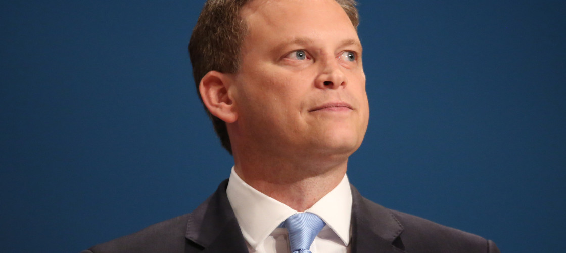 Former Tory chairman Grant Shapps