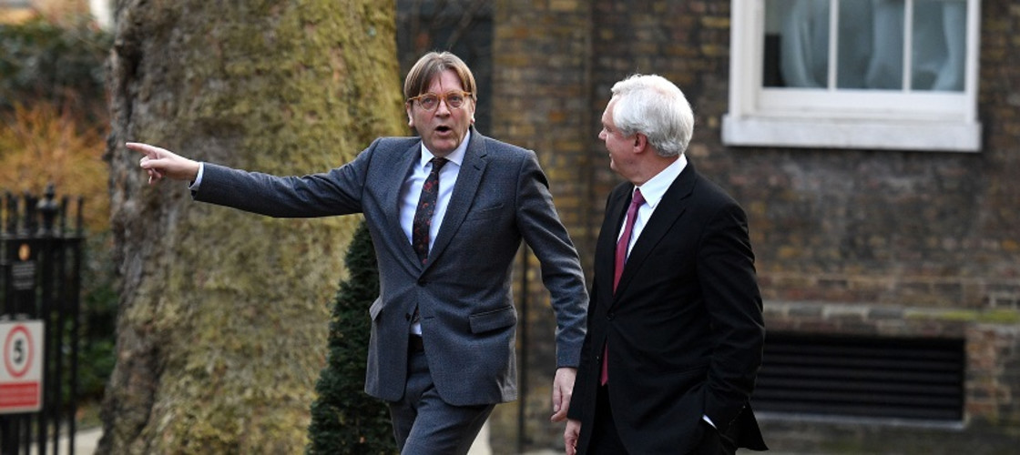 Guy Verhofstadt and David Davis