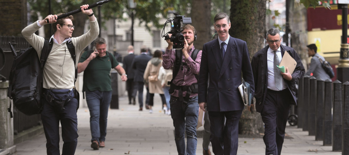 Jacob Rees-Mogg became chair of the ERG in January