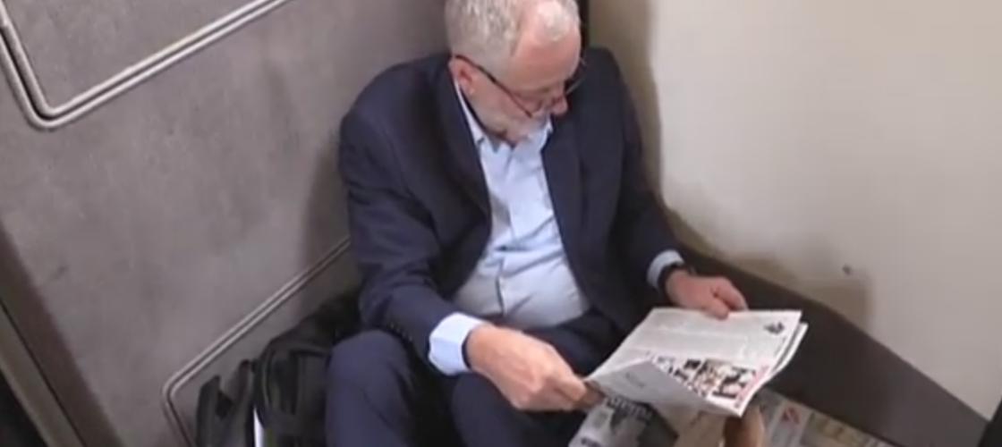 Jeremy Corbyn travelling to Gateshead