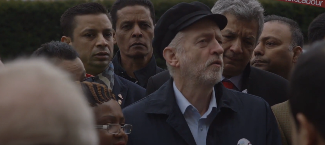Jeremy Corbyn in Vice documentary