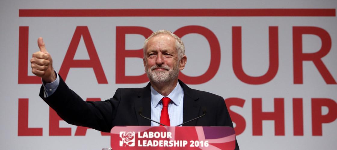 Jeremy Corbyn in Liverpool