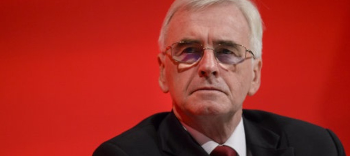 John McDonnell at the 2016 Labour party conference