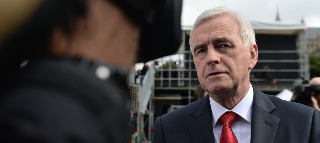 John McDonnell argued remaining members of the EU single market would not respect the referendum result
