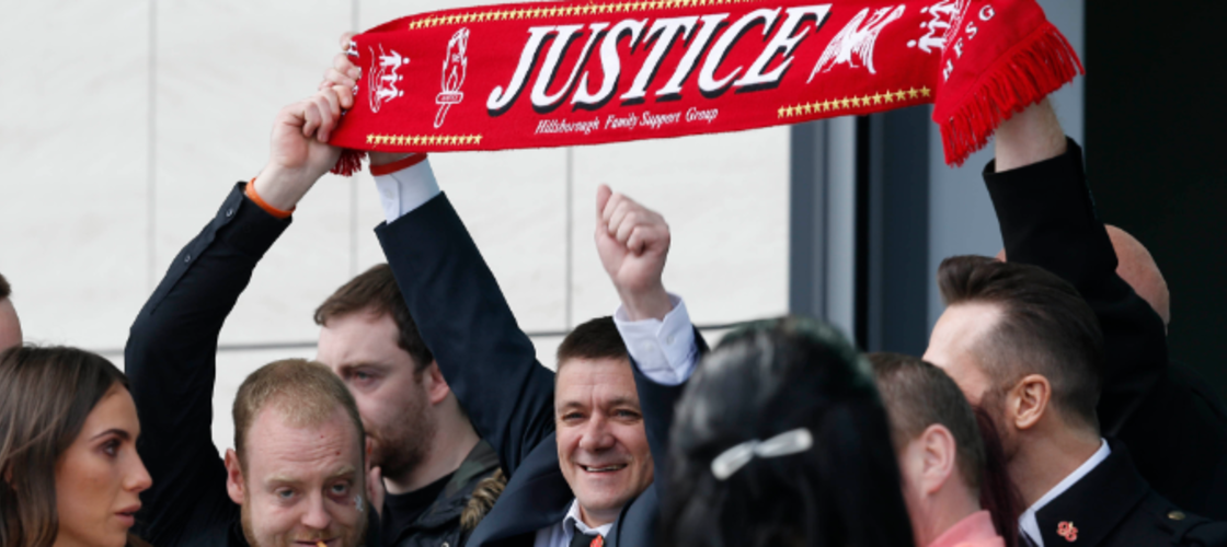 "David Cameron says Liverpool fans are ""utterly blameless"""