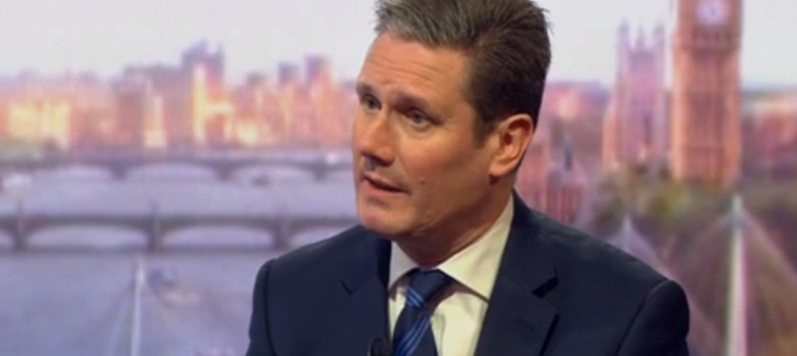 Keir Starmer on the BBC's Andrew Marr Show