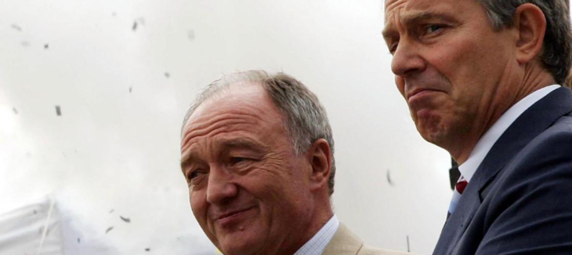 Ken Livingstone Tony Blair