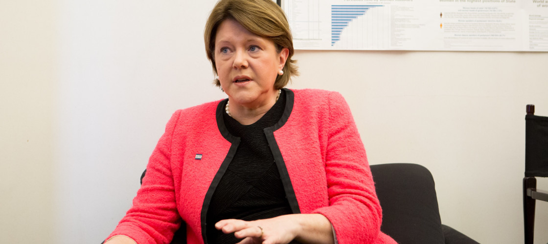 Maria Miller is chair of the Women and Equalities Committee