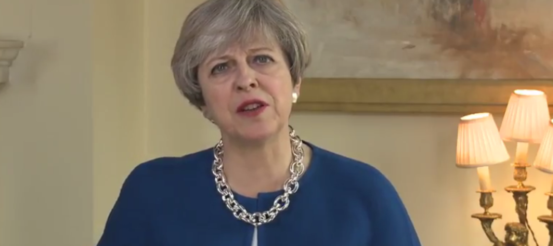 Theresa May's Easter message