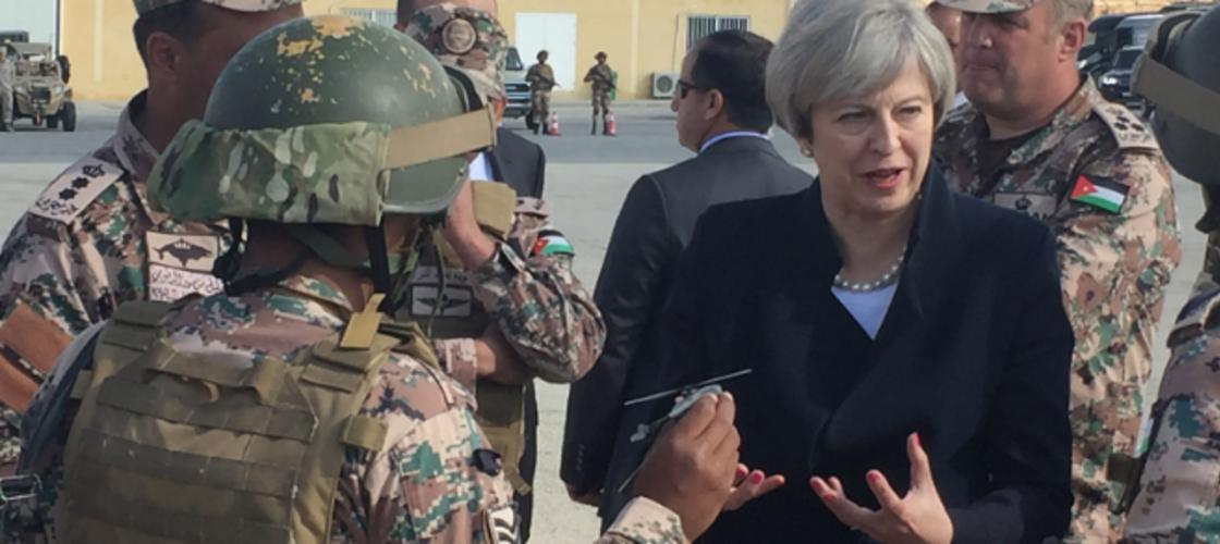 Theresa May Saudi row