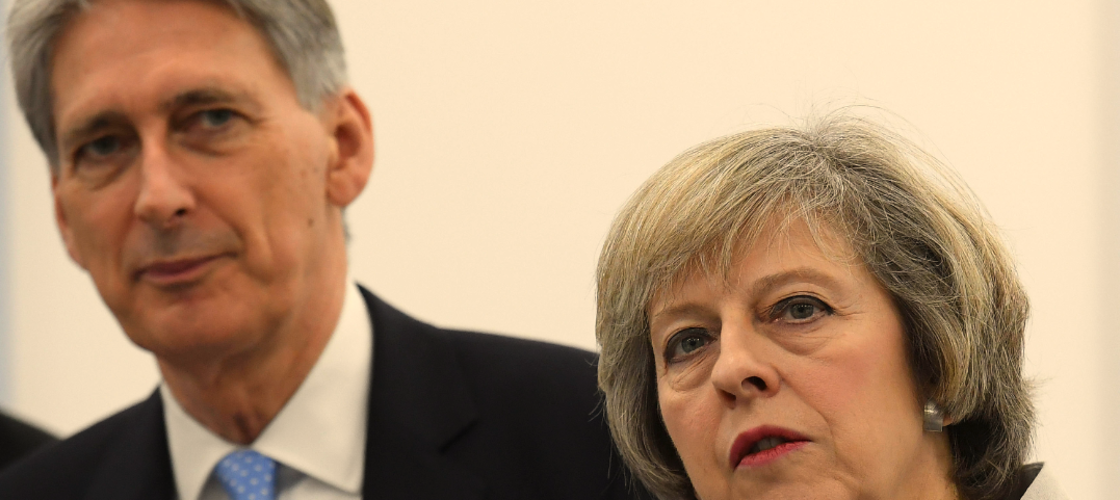 Theresa May and Philip Hammond