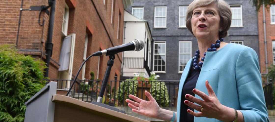 Theresa May Trident