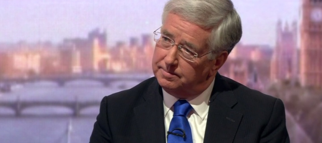 Michael Fallon on the Andrew Marr Show, 11/12/16