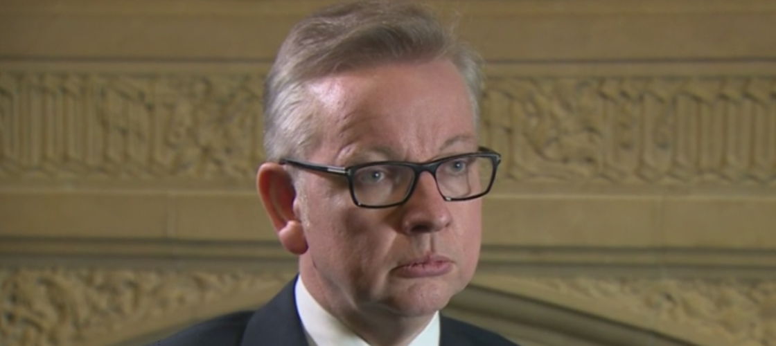 Michael Gove on the BBC