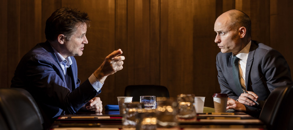 Nick Clegg interviewed by Stephen Kinnock