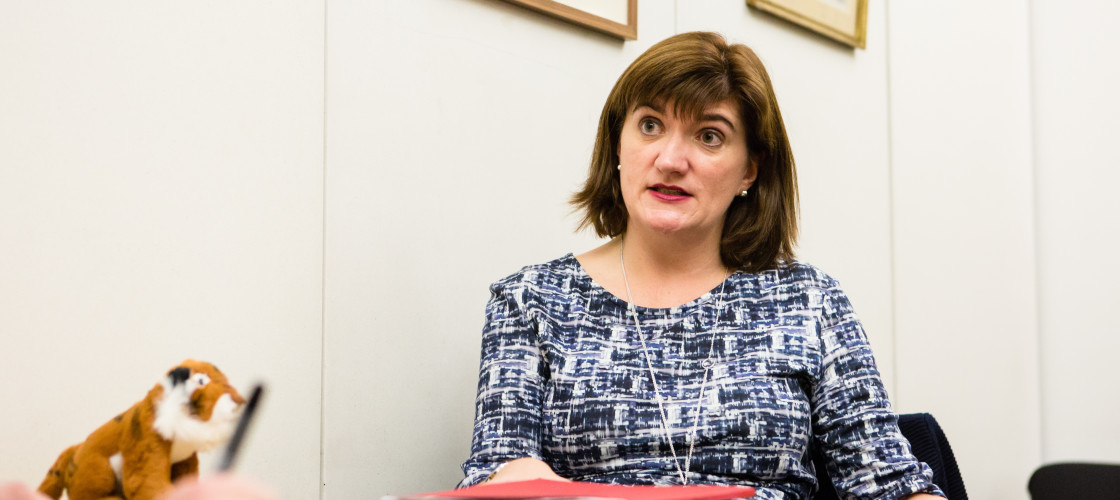 Treasury Select Committee chair Nicky Morgan
