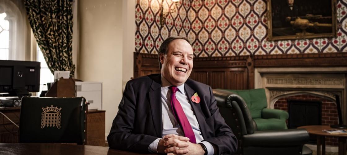 DUP Westminster group leader Nigel Dodds