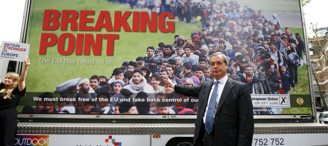 Image result for Farage immigration poster
