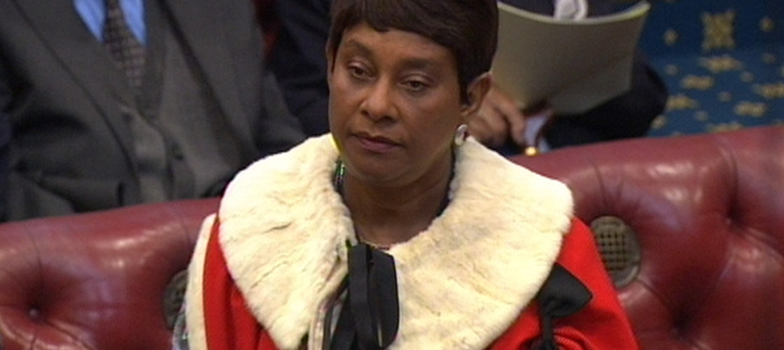 "Baroness Lawrence said the Government need to ""get a grip"" on knife crime."