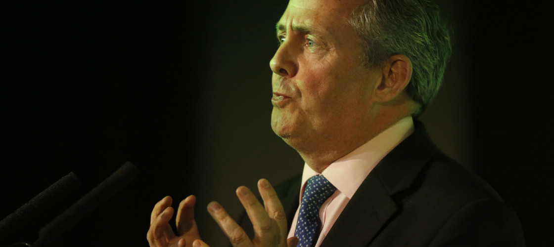 Dr Liam Fox claims British business has become 'too lazy and too fat'