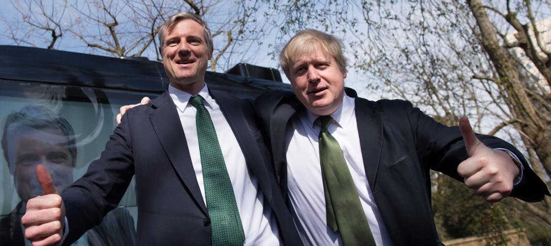 Zac Goldsmith Boris Johnson