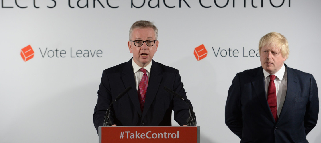 Michael Gove has decided to run against his Brexit ally Boris Johnson