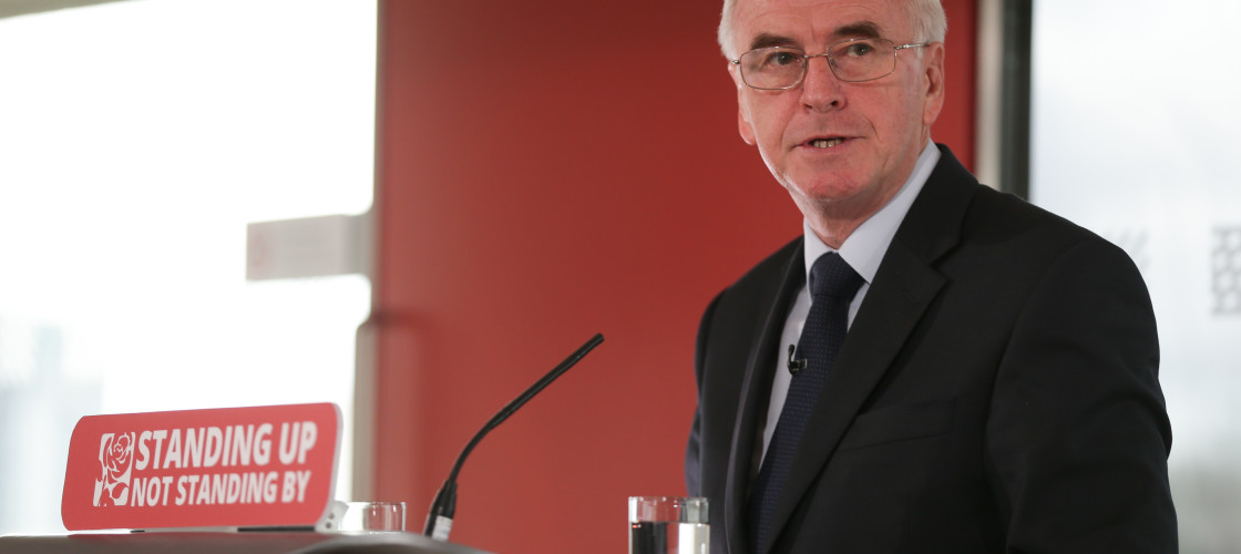 John McDonnell has set out his vision for a 'new economy'