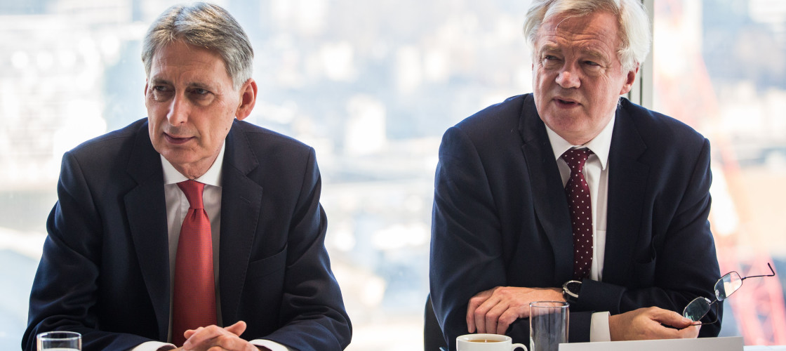 David Davis and Philip Hammond were joined by Greg Clark in their letter to business.