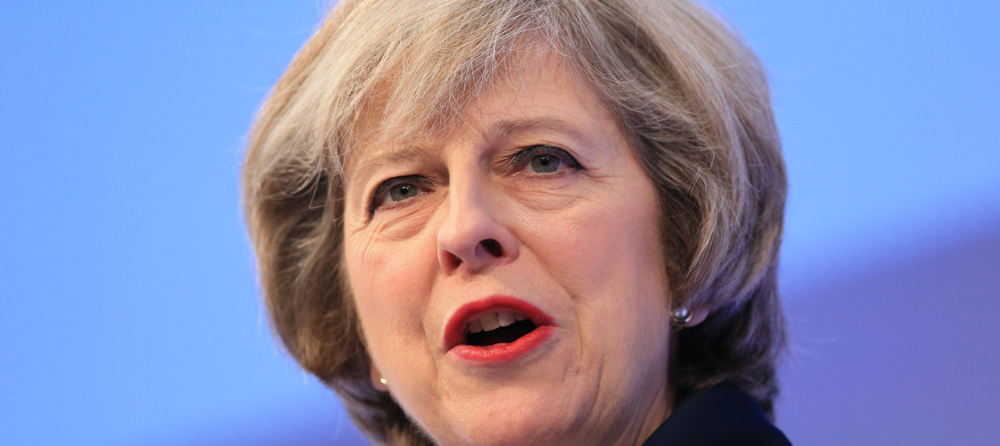 Theresa May will make her first major speech of the year this morning