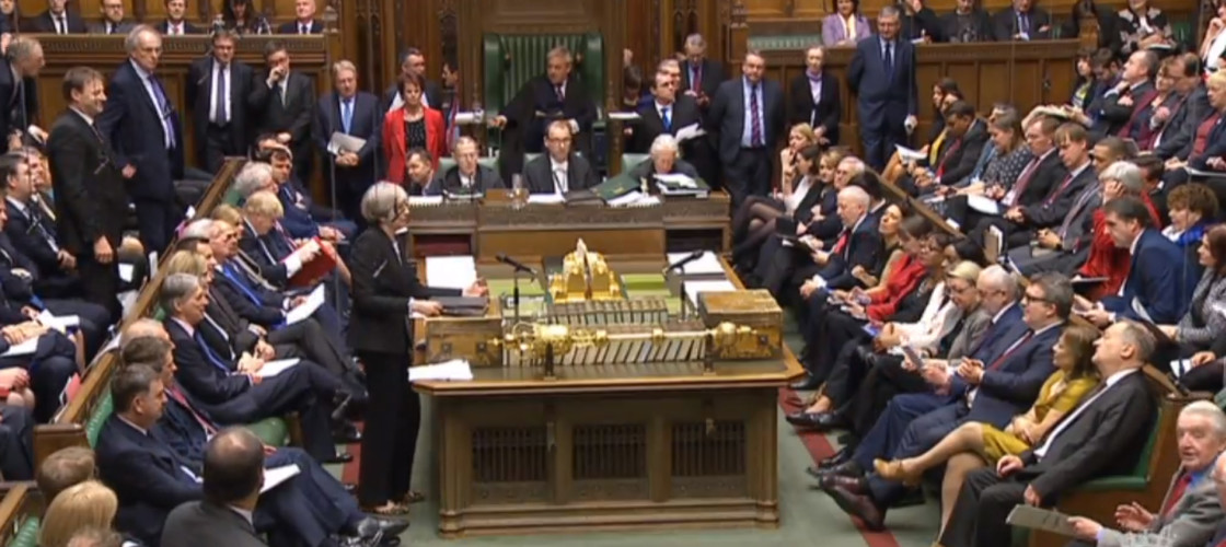 MPs listening to Prime Minister's Questions this week