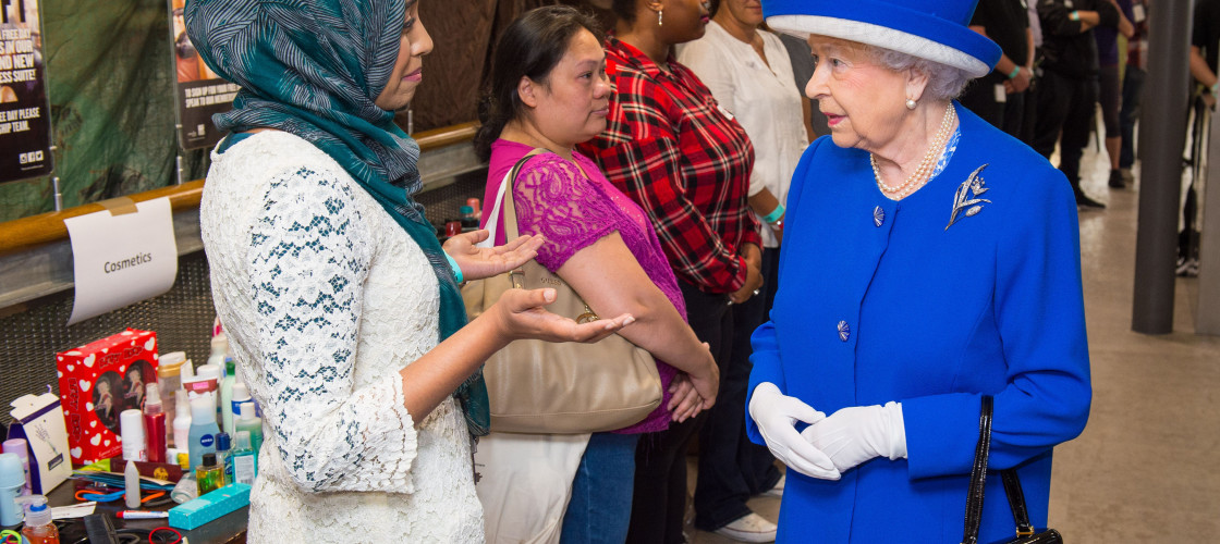 """The Queen has recongised the """"sombre"""" mood gripping the nation."""