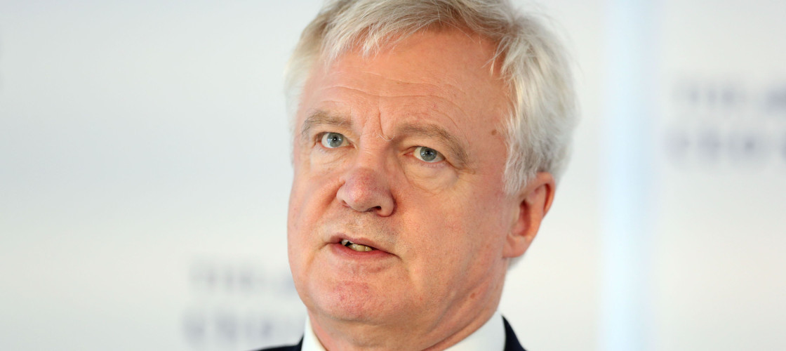 David Davis is determined the Government will last for five years.