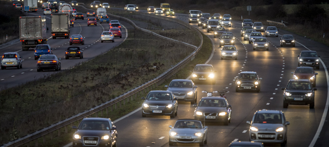 The Government is considering introducing pay-per-mile tolls.