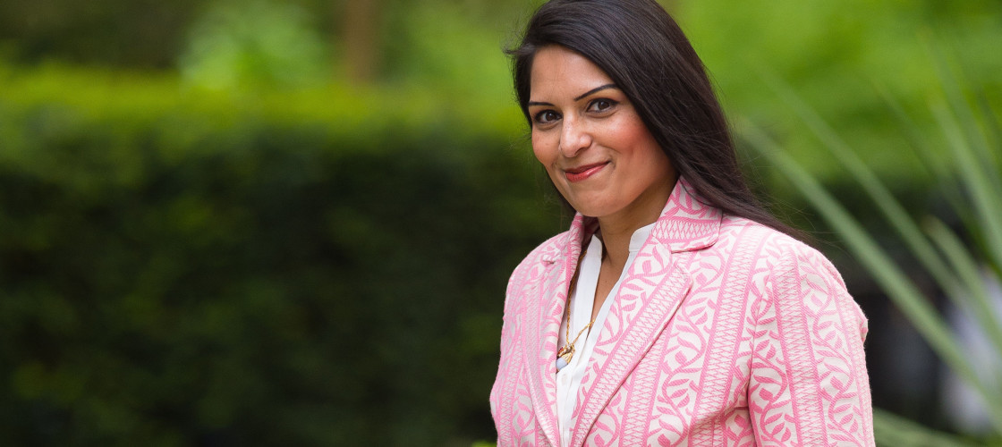"Priti Patel said the Oxfam revelations were ""the tip of the iceberg"" in terms of sexual abuse in the charity sector."