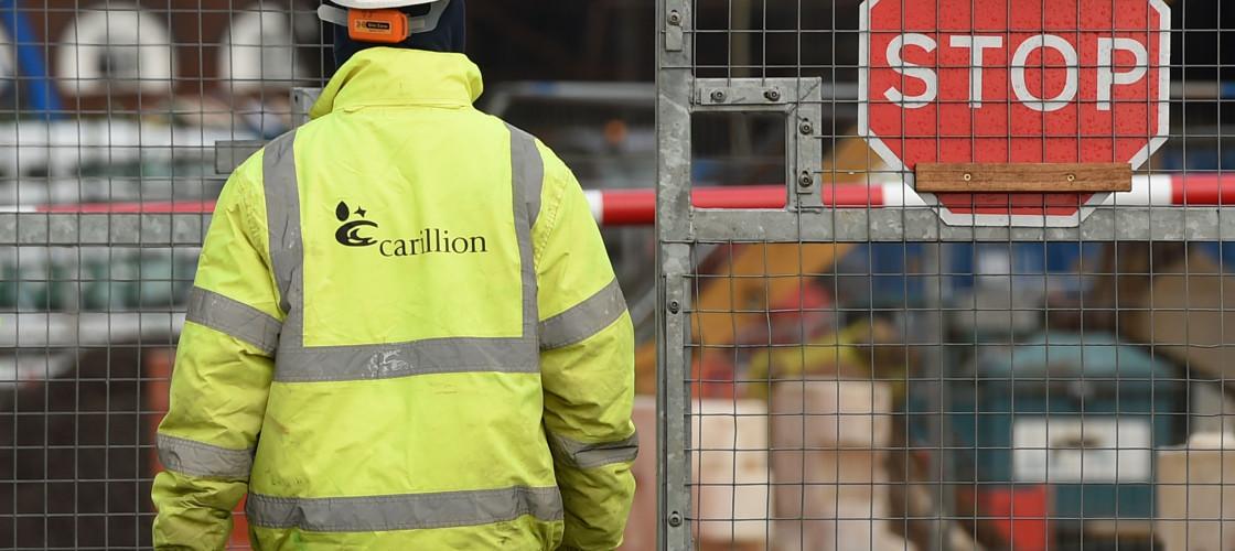 Carillion worker