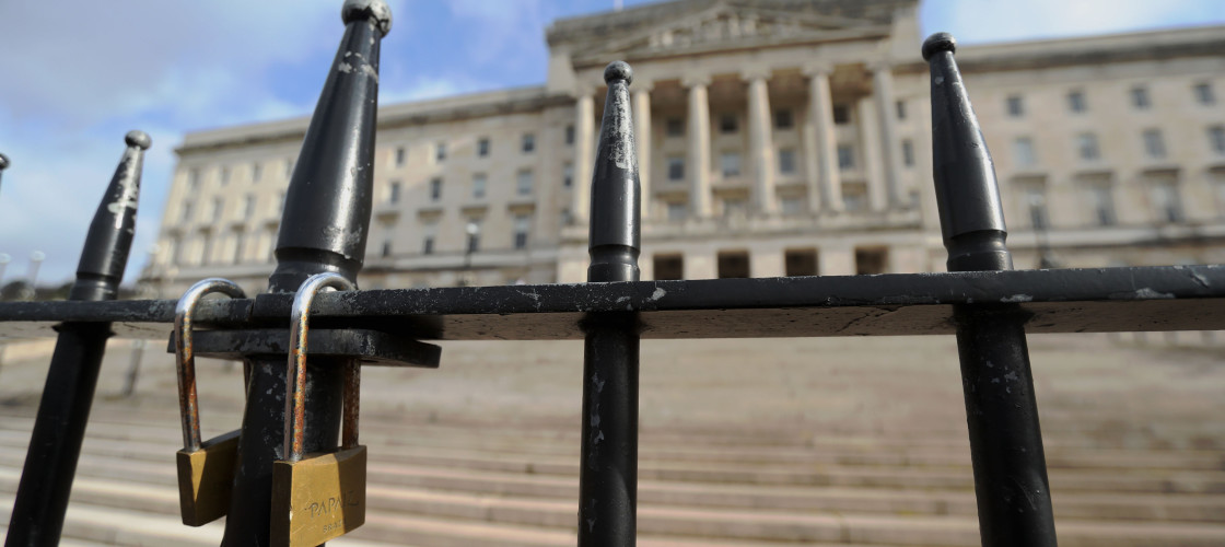 Talks for a power sharing deal in Northern Ireland have collapsed, the head of the DUP has said.