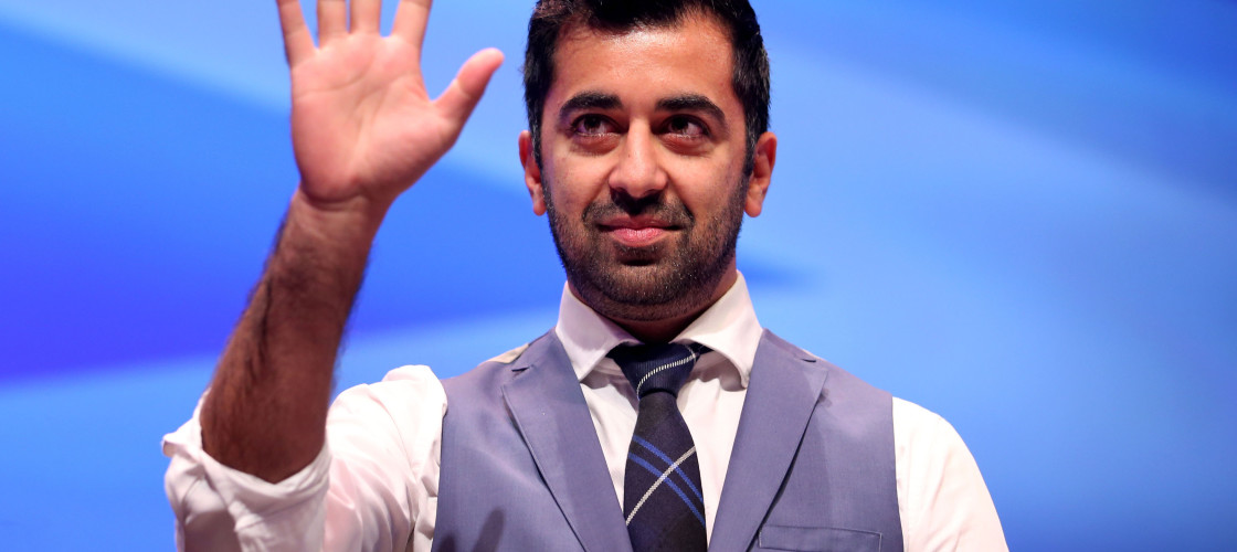 "Humza Yousaf has said he is ""still angry"" at the slur."