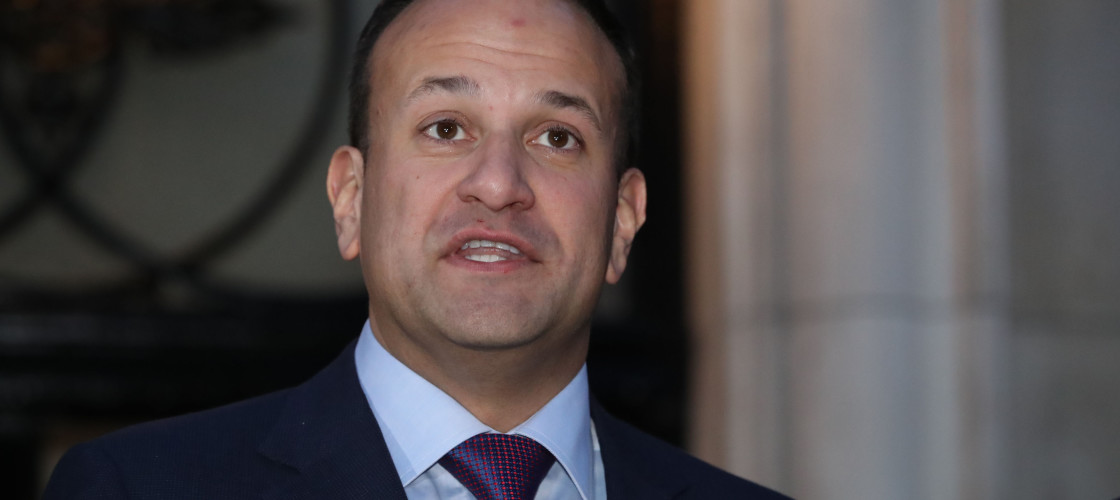Leo Varadkar hit out at the lack of detail on the future of the NI border in Theresa May's speech.