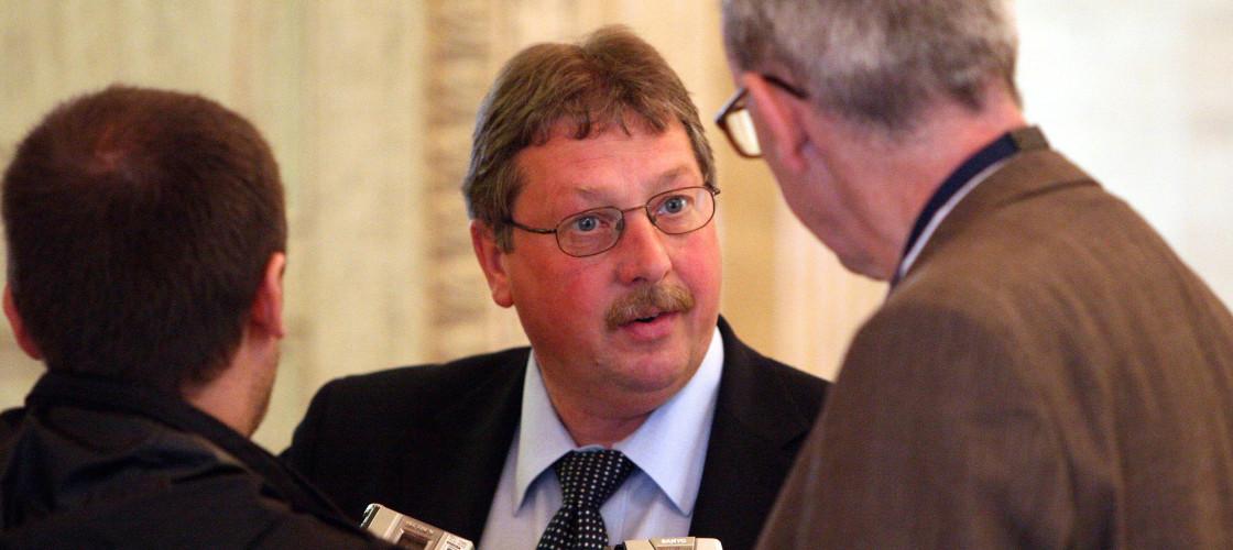DUP MP Sammy Wilson