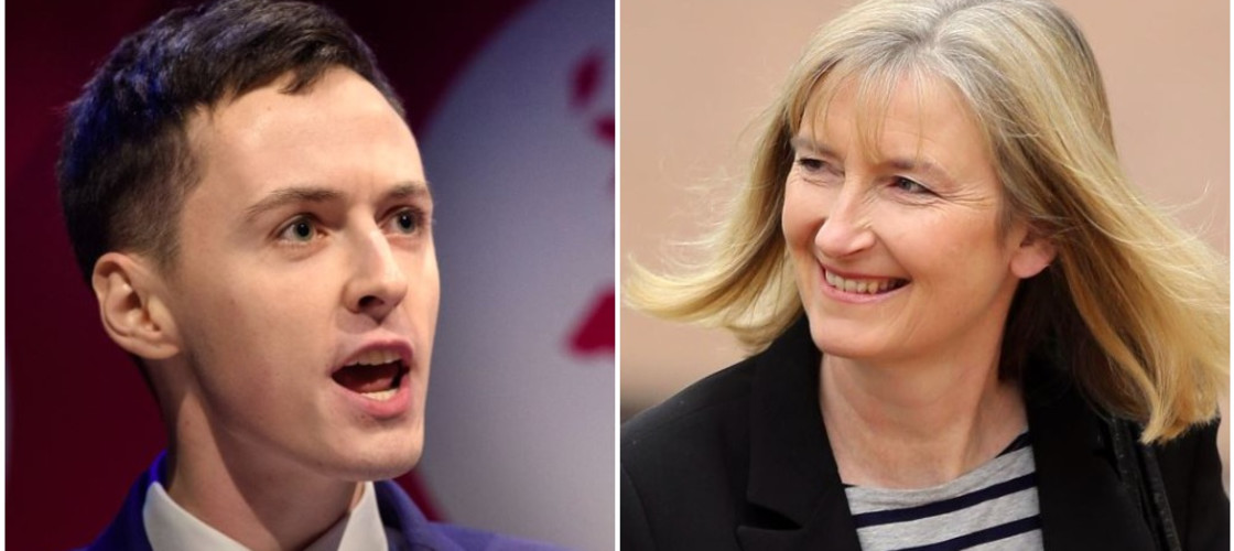 Darren Grimes and Sarah Wollaston