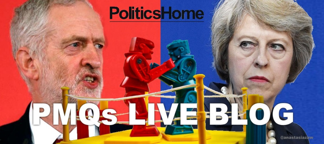 Theresa May and Jeremy Corbyn are going head to head in the Commons