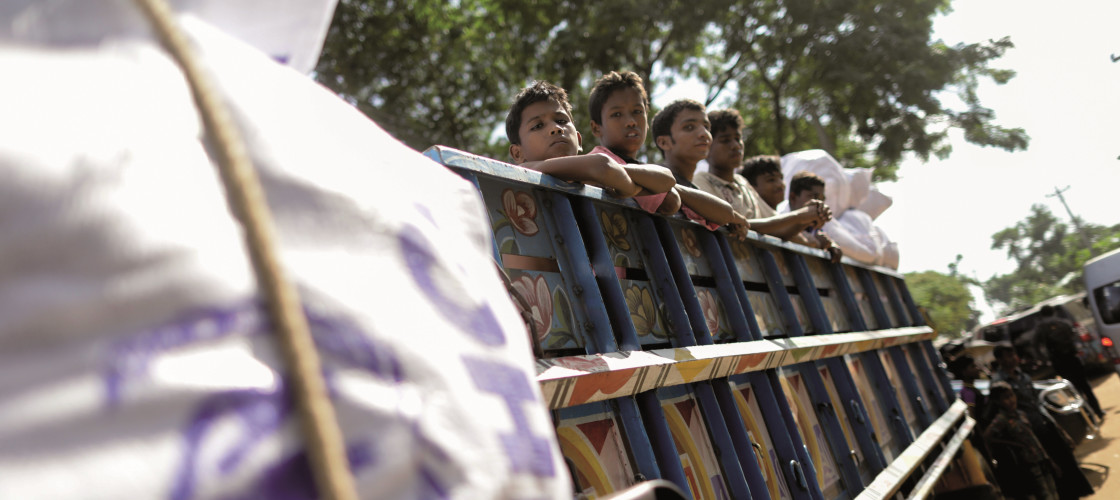 Rosena Allin-Khan visited the Rohingya refugee camps in Bangladesh