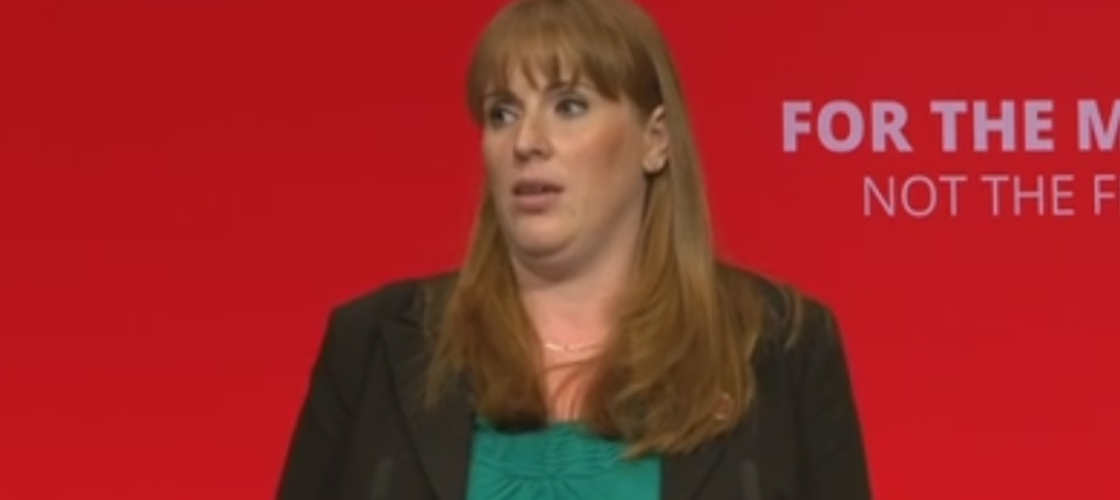 Angela Rayner addresses Labour conference in Brighton