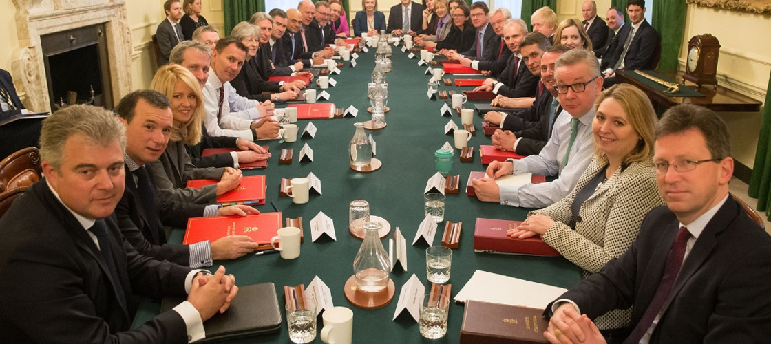Theresa May's new-look Cabinet