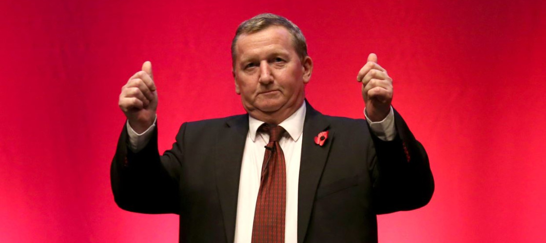 Alex Rowley at the 2015 Scottish Labour conference