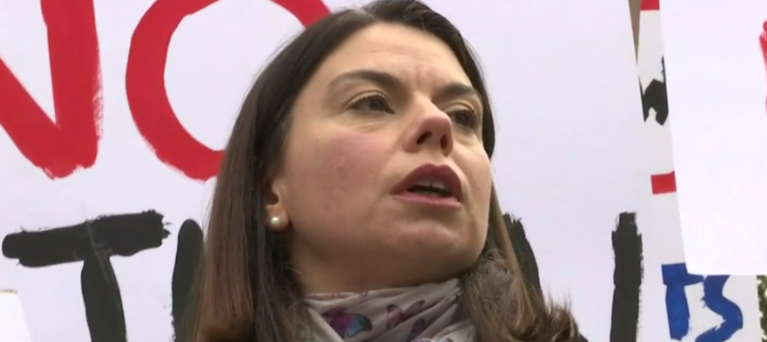 Liberal Democrat by-election candidate Sarah Olney