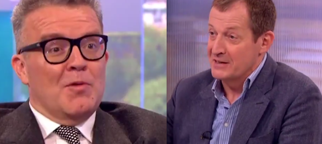 Tom Watson and Alastair Campbell