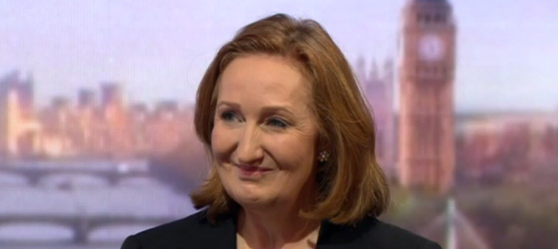 Suzanne Evans announcing her candidacy on the Andrew Marr Show