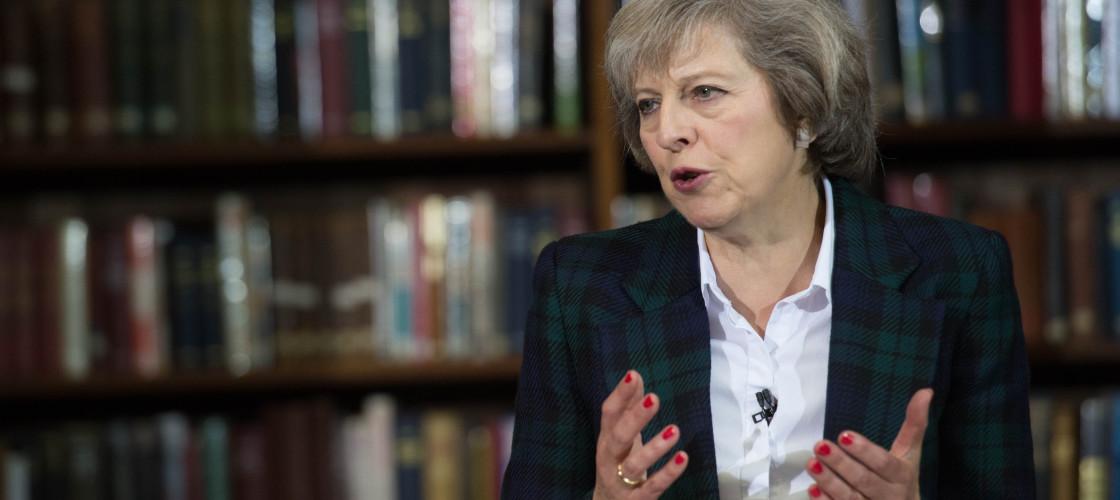 Theresa May launches her leadership bid