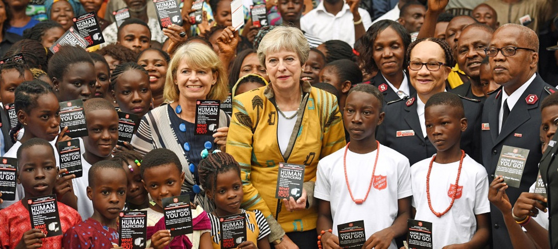 Image result for Theresa May nigeria